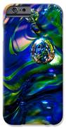 Blue Swirls iPhone Case by David Patterson