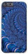Blue Tubes iPhone Case by John Edwards