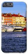 Boats at St.Tropez harbor iPhone Case by Elena Elisseeva