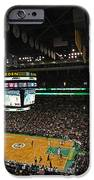 Boston Celtics Basketball iPhone Case by Juergen Roth
