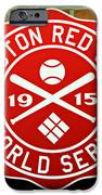 Boston Red Sox 1915 World Champions iPhone Case by Stephen Stookey