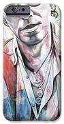 Bruce Springsteen iPhone Case by Joshua Morton