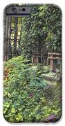 Bryant Park Grill 2 iPhone Case by Muriel Levison Goodwin