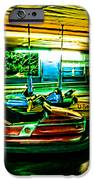 Bumper Cars iPhone Case by Colleen Kammerer