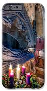Candles at Christmas iPhone Case by Adrian Evans