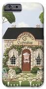 Canterbury Cupcakes iPhone Case by Catherine Holman