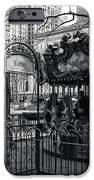 Carousel Tickets mono iPhone Case by John Rizzuto