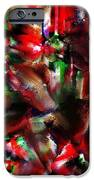 caught in the crowd two water color and pastels wash iPhone Case by Sir Josef  Putsche Social Critic