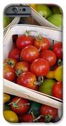 Cherry Tomatos iPhone Case by Carlos Caetano
