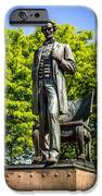 Chicago Abraham Lincoln The Man Standing Statue  iPhone Case by Paul Velgos