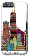 Chicago city  iPhone Case by Bri Buckley