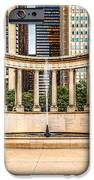 Chicago Millennium Monument in Wrigley Square iPhone Case by Paul Velgos