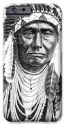 Chief-Joseph iPhone Case by Gordon Punt