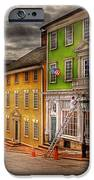 City - Providence RI - Thomas Street iPhone Case by Mike Savad