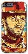 Clint Eastwood Pop Art iPhone Case by Jim Zahniser