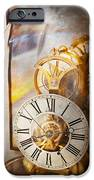 Clockmaker - A look back in time iPhone Case by Mike Savad