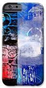Color Scrap iPhone Case by Nancy Merkle