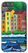 Colours of Portofino iPhone Case by Lisa  Lorenz