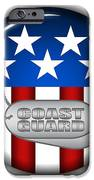 Cool Coast Guard Insignia iPhone Case by Pamela Johnson