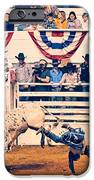 Cowboy Up iPhone Case by Charles Dobbs