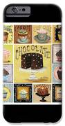 Cupcake Mosaic iPhone Case by Catherine Holman