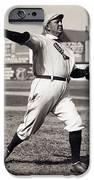 CY YOUNG - AMERICAN LEAGUE PITCHING SUPERSTAR - 1908 iPhone Case by Daniel Hagerman