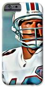 Dan Marino iPhone Case by Florian Rodarte