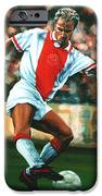 Dennis Bergkamp 2 iPhone Case by Paul  Meijering