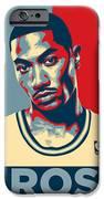 Derrick Rose iPhone Case by Taylan Soyturk
