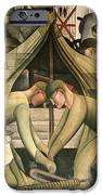 Detroit Industry  south wall iPhone Case by Diego Rivera