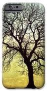 Digital Art Tree Silhouette iPhone Case by Natalie Kinnear