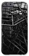 Downtown Stairs iPhone Case by Kenal Louis
