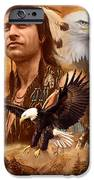 Eagle Montage iPhone Case by Garry Walton
