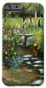 Emily's Garden iPhone Case by Cecilia  Brendel