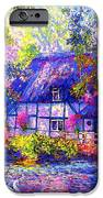 English Cottage iPhone Case by Jane Small