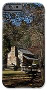 Farm Cabin Cades Cove Tennessee iPhone Case by Douglas Barnett