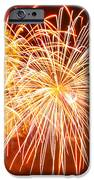 Fireworks Flower iPhone Case by Robert Hebert