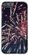 Fireworks Series XIII iPhone Case by Suzanne Gaff