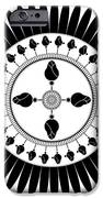Floral Ornament iPhone Case by Frank Tschakert