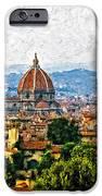 Florence impasto iPhone Case by Steve Harrington