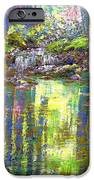 Forest of Light iPhone Case by Jane Small