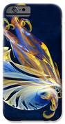 Fractal - Sea Creature iPhone Case by Susan Savad