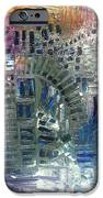 fracture iPhone Case by Michael Kulick
