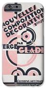 Front cover of Nouvelles Compositions Decoratives iPhone Case by Serge Gladky