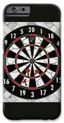 Game of Darts Anyone? iPhone Case by Kaye Menner
