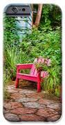 Garden Treasures at Aunt Eden's by Diana Sainz iPhone Case by Diana Sainz