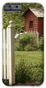 Garden's Entrance iPhone Case by Margie Hurwich