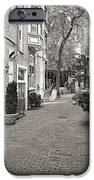 Gaslight Court Chicago Old Town iPhone Case by Christine Till