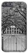Gateway to the Old South monochrome iPhone Case by Steve Harrington