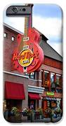 Gatlinburg Hard Rock Cafe iPhone Case by Frozen in Time Fine Art Photography